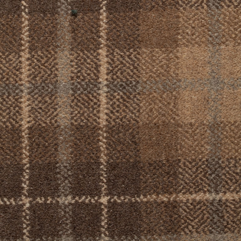 Oban Carpet Woven Axminster Tartan Design Made In Uk From